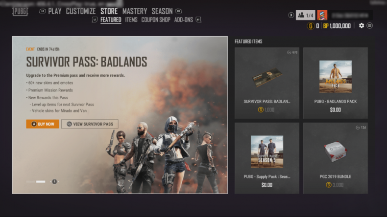 pubg update 128 store patch notes