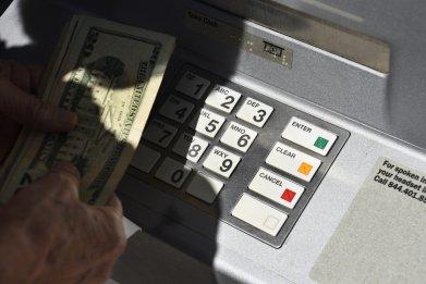 bank atm money