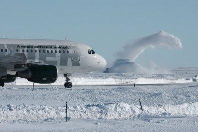 Denver International Airport Snow 2006