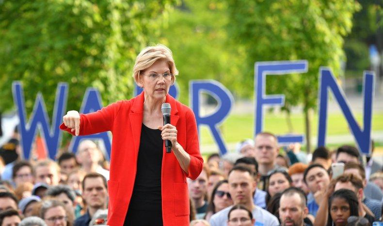 Elizabeth Warren Poll Plummet