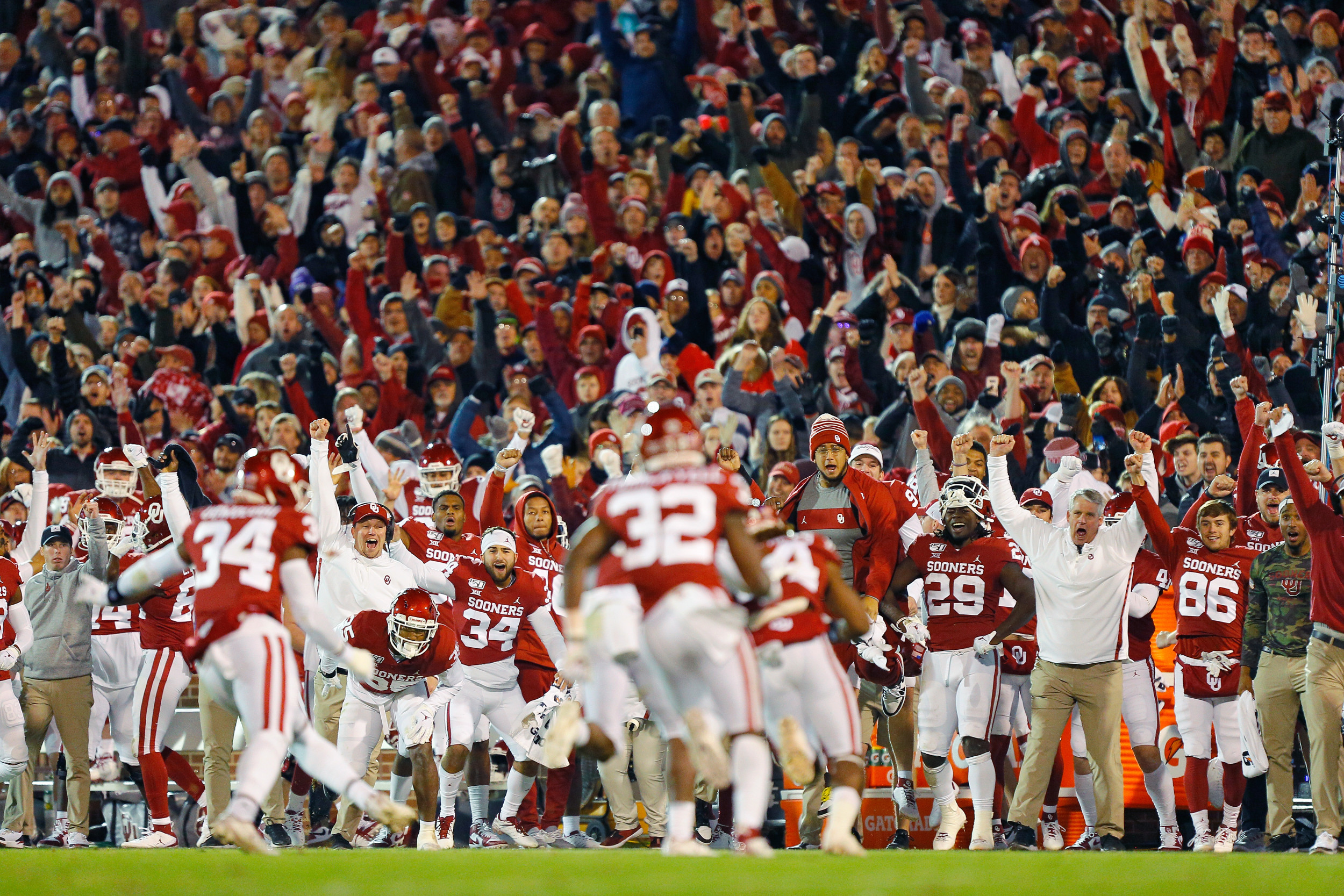 College Football Tv Schedule 2019 Where To Watch Oklahoma