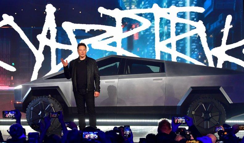 Elon Musk - Cybertruck