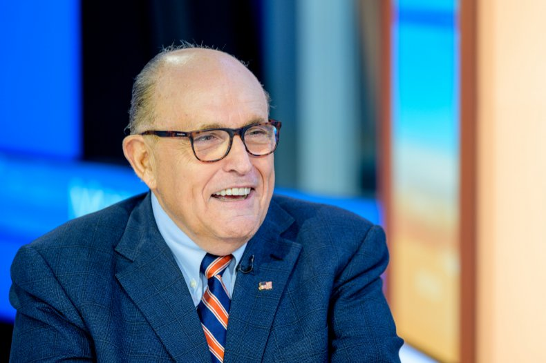 Rudy Giuliani Donald Trump Ukraine impeachment corruption