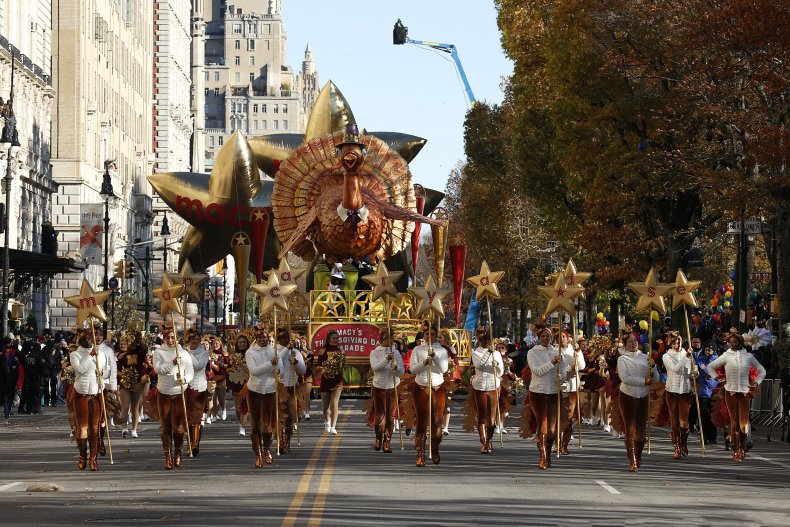The 2018 Macy's Thanksgiving Day Parade in NYC
