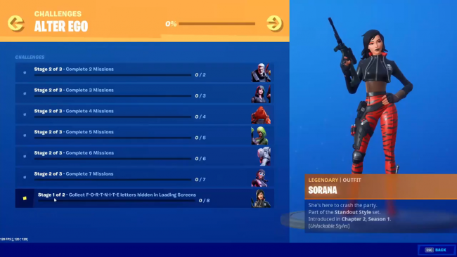 Fortnite Search Hidden E In Dive Loading Screen Location
