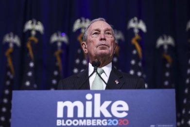 Mike Bloomberg 2020 billionaire Trump wealth campaign