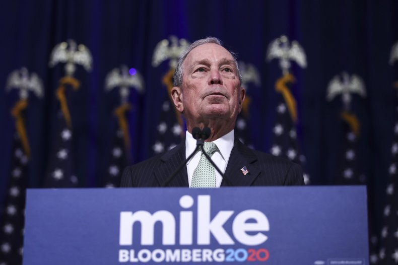 Mike Bloomberg 2020 billionaire Trump wealth campaign