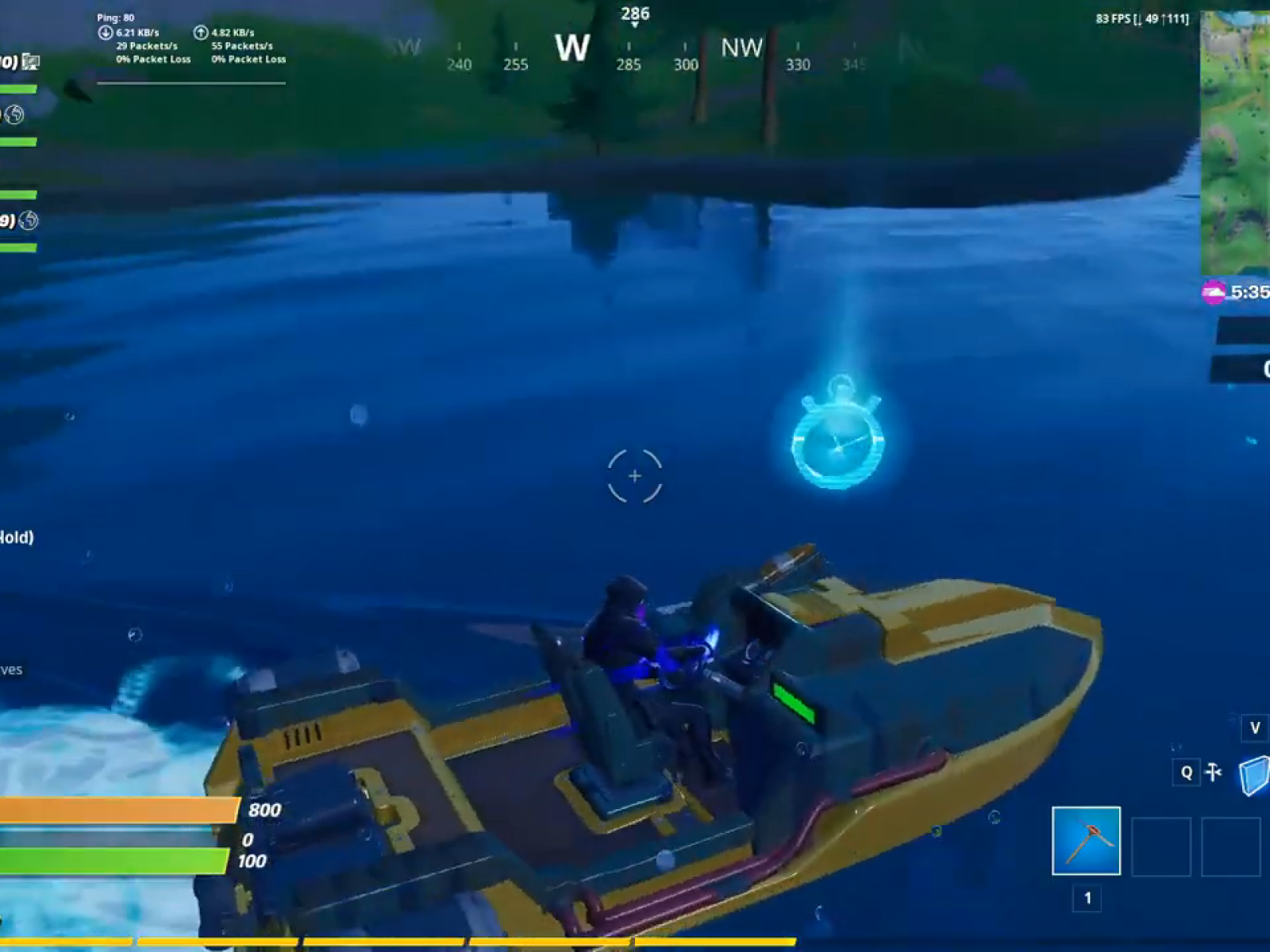 Fortnite Swimming Time Trial Locations Lazy Lake East