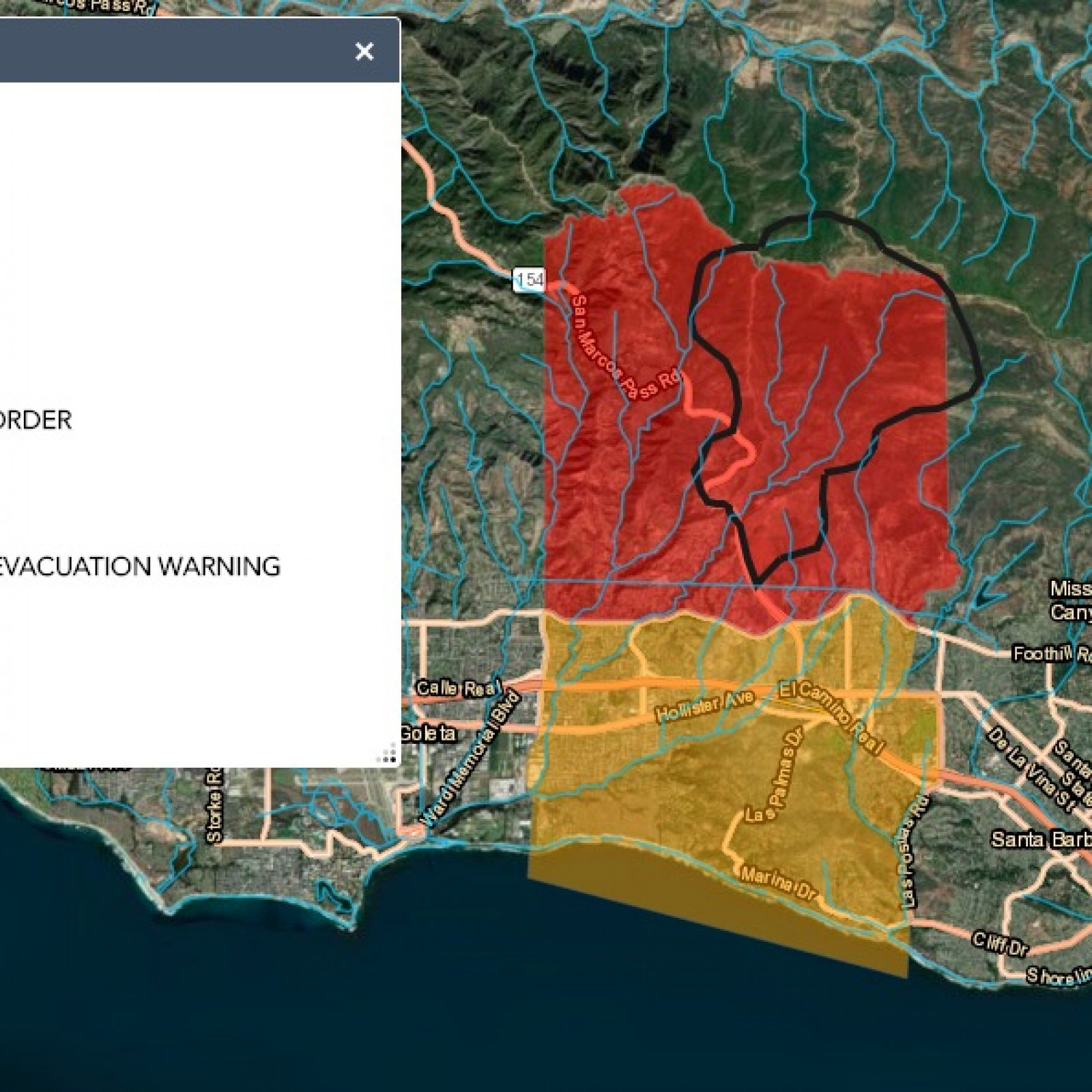 Santa Barbara Fire Update: Cave Fire Map Shows Evacuation ... on california coastal caves, california waterfalls map, old station ca map, california wood map, california wildlife map, california water cave, california lava tube caves, ohio cave map, california filming locations map, mn horse trail map, california oceans map, california roads map, universal studios in california map, california caves list, california tide pools map, california volcanoes map, california dunes map, denair california map, california caves open to the public, california streams map,