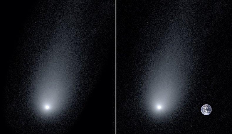 comet 2l/Borisov, Earth