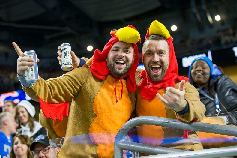 Detroit Lions, NFL Thanksgiving