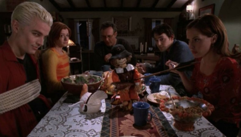 thamnksgiving tv specials buffy