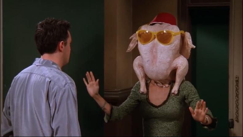 thanksgiving tv friends