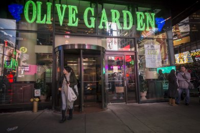 Olive Garden Times Square NYC 2015
