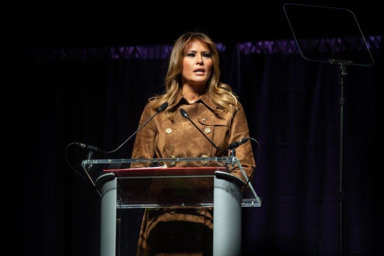 Melania Trump opioid awareness