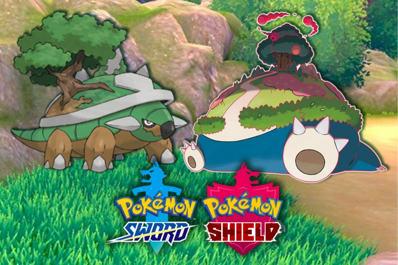 pokemon sword shield gigantamax snorlax torterra