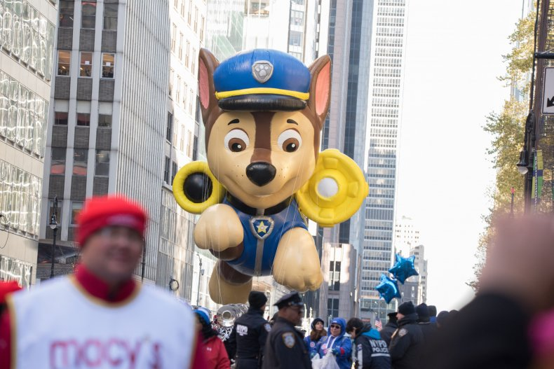 macy's thanksgiving day parade weather nyc