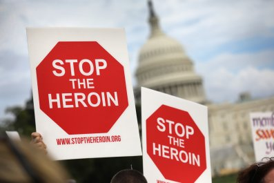 heroin march