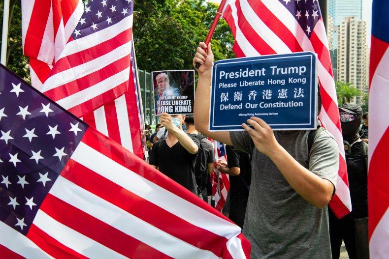 Donald Trump, US, Hong Kong, China, pro-democracy