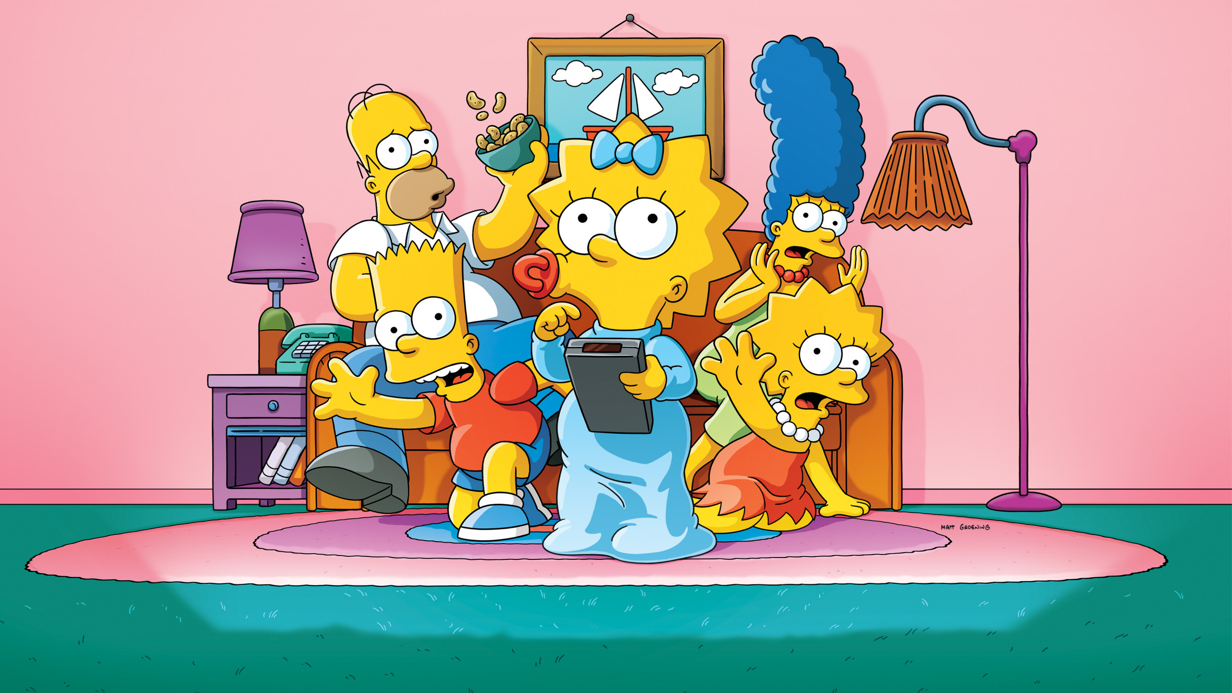 The Simpsons Is Ending Claims Theme Music Composer