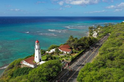 Honolulu Hawaii near Diamond Head December 2018