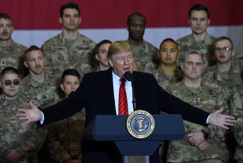 Donald Trump in Afghanistan