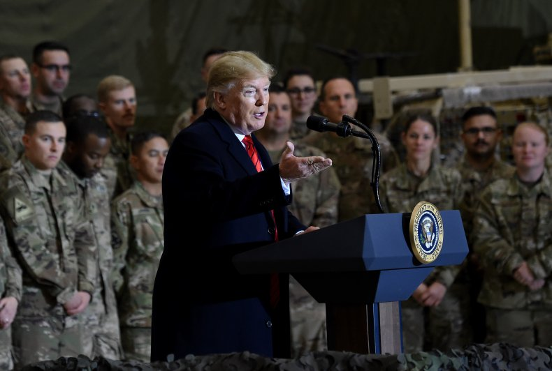 Donald Trump in Afghanistan