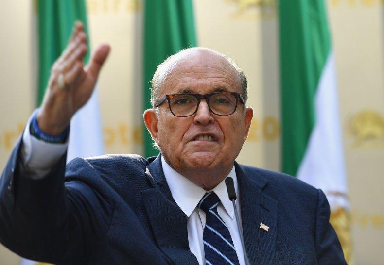 Rudy Giuliani Trump impeachment hearings McCarthyism Ukraine