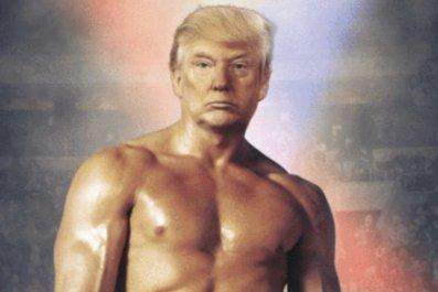 Donald Trump as Rocky Balboa