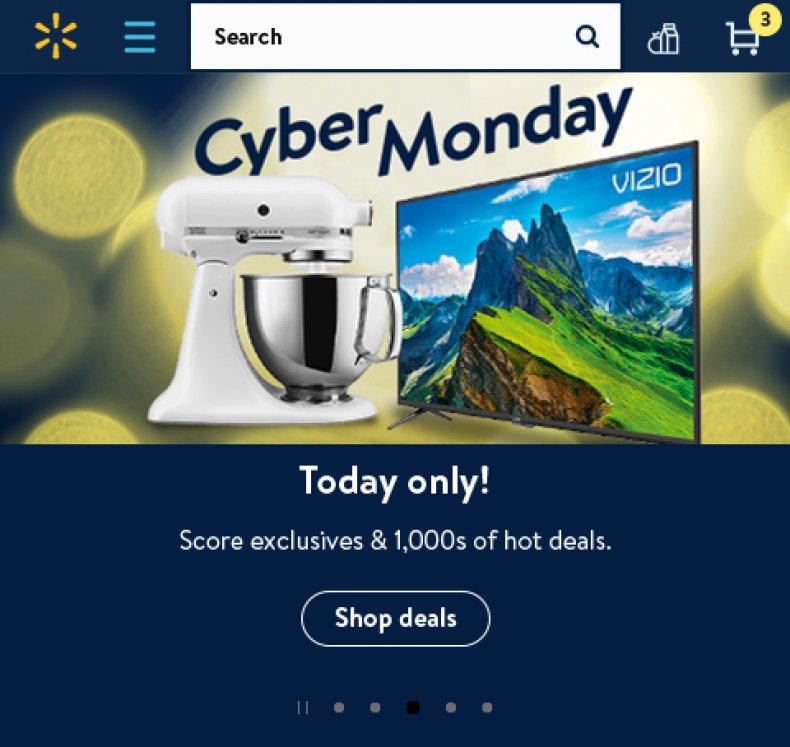 Cyber Monday Walmart 2019