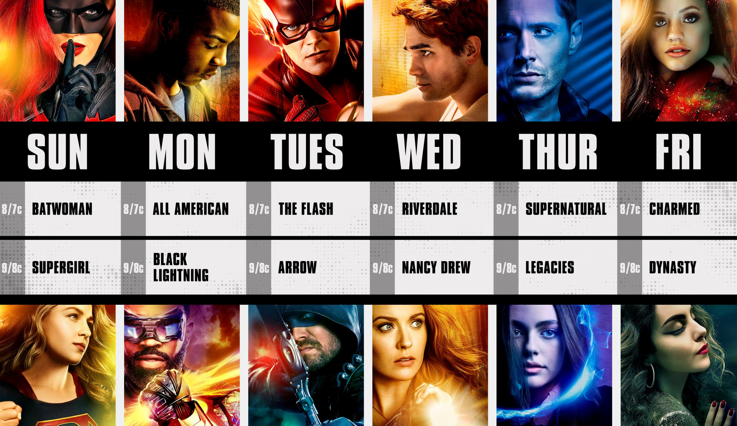 The CW Midseason Finale Schedule: When Your Favorite Show is