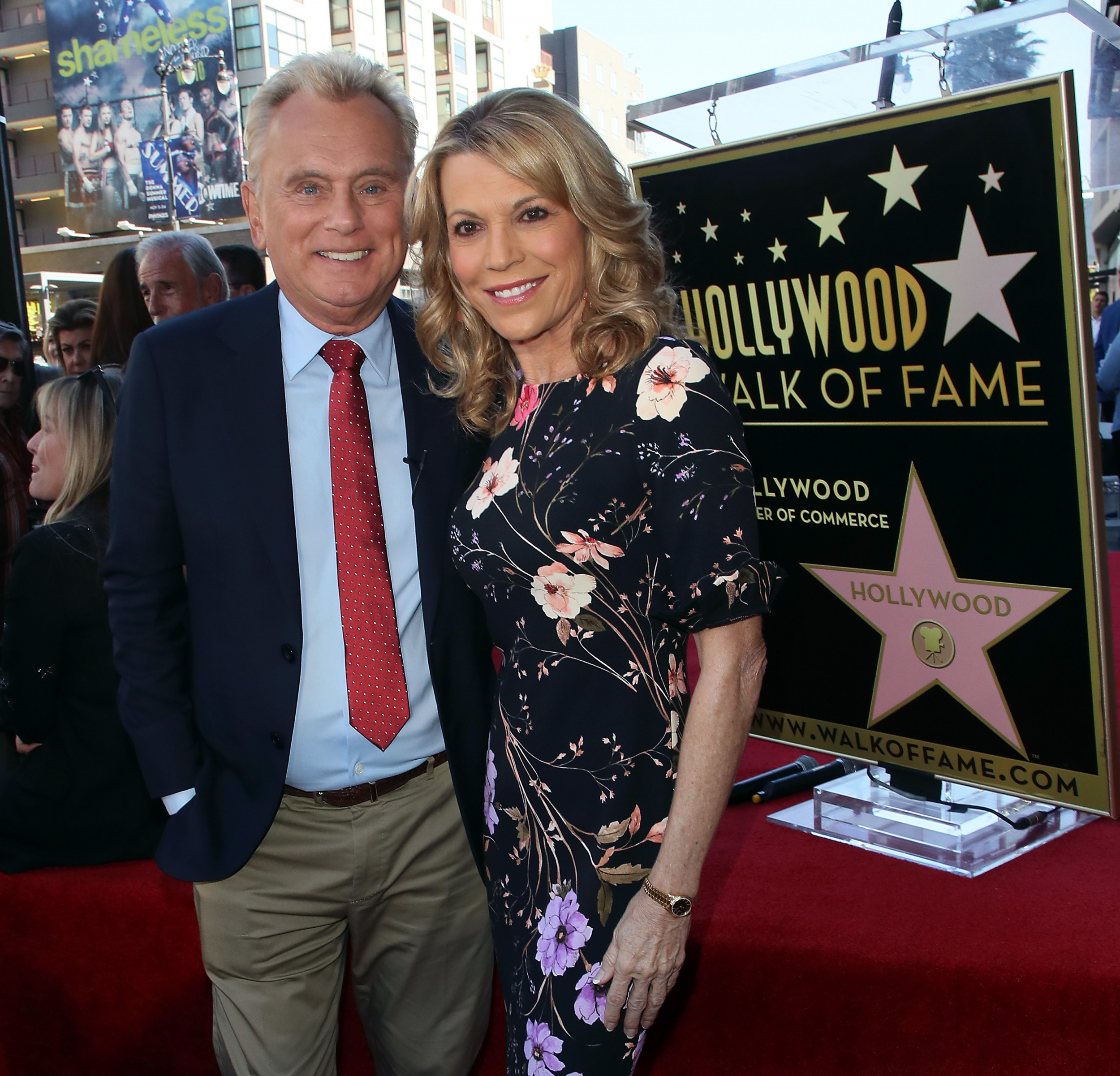 Wheel Of Fortune Host Pat Sajak Seen In First Public Appearance Following Recent Emergency Surgery