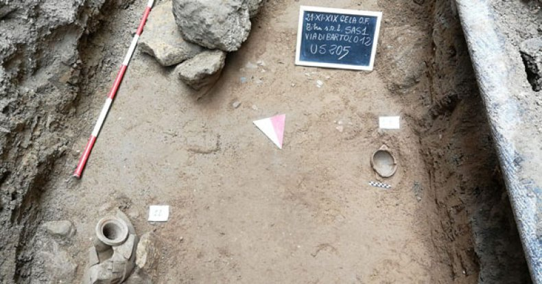 Gela burial ground