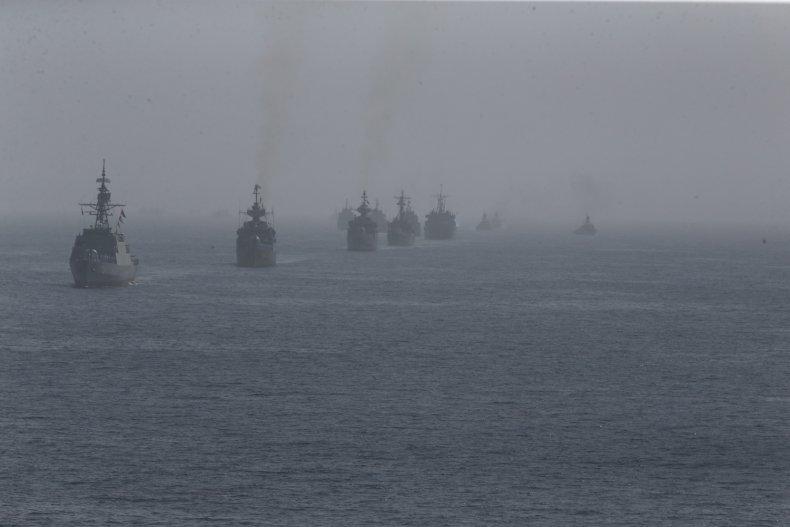 iran navy ships exercise gulf indian ocean