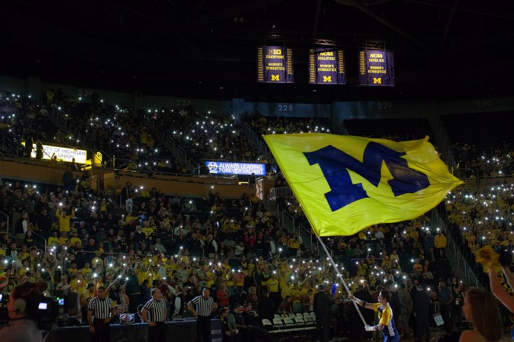 Michigan Basketball Matches Largest Leap In Ap Poll History