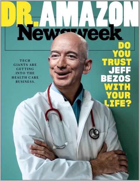 amazon jeff bezos health care silicon valley