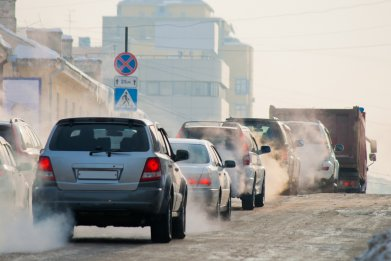 car exhaust, fossil fuel, carbon emissions ,stock,getty