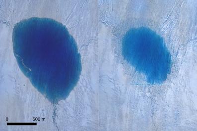 Greenland Ice Sheet lake