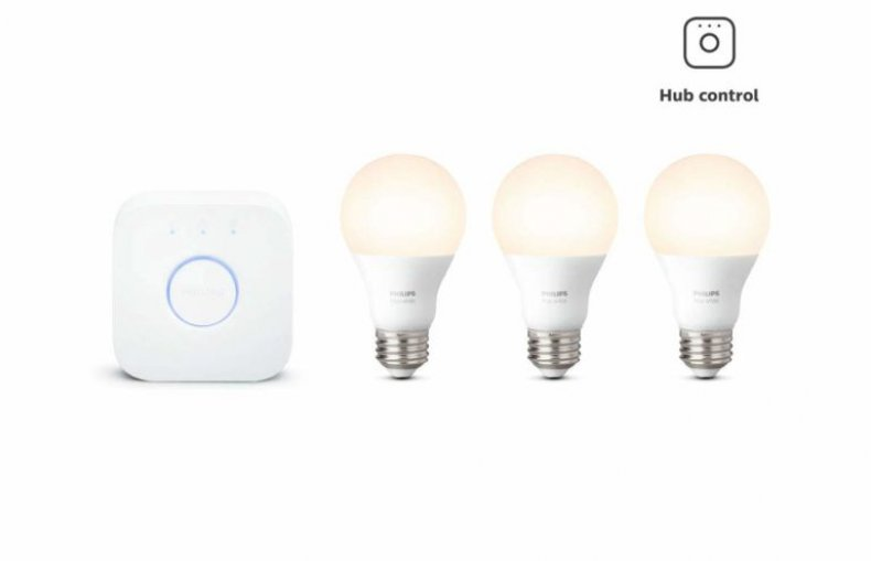 Philips Hue White 3-Bulb Starter Kit