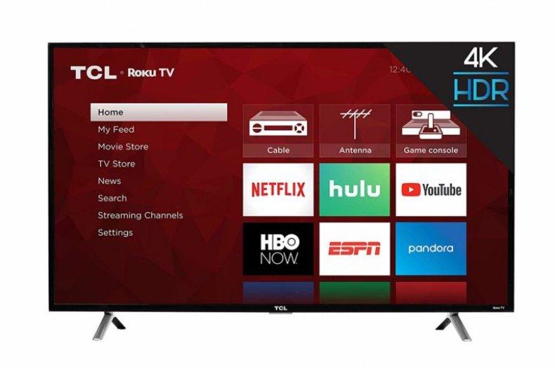 TCL 43-Inch 4K Roku TV