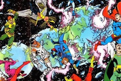 crisis on infinite earths comic book