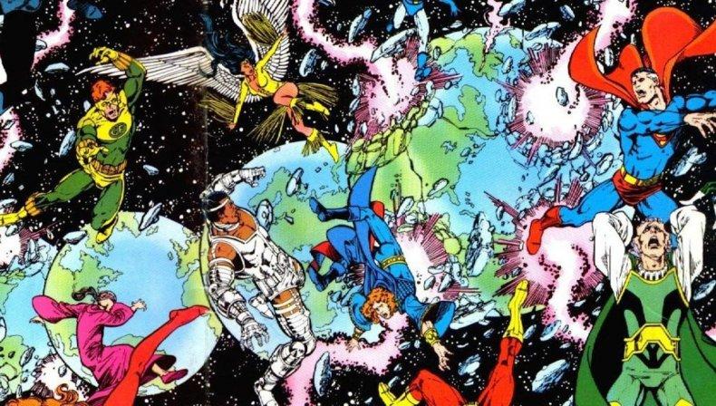 crisis on infinite earths comic book