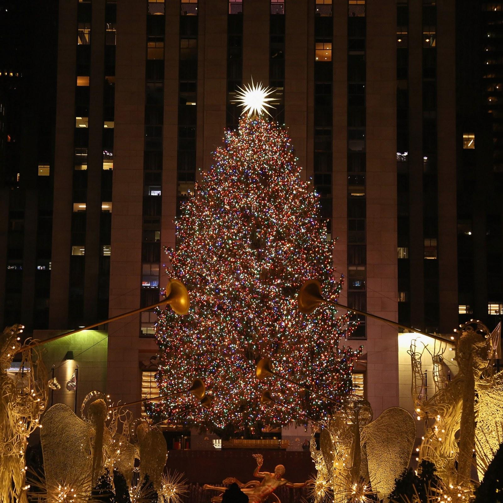 Rockefeller Christmas Tree 2021 Broadcast Rockefeller Center Christmas Tree Lighting 2019 Time Live Stream How To Watch