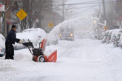 New York City Snow Winter Storm 2018
