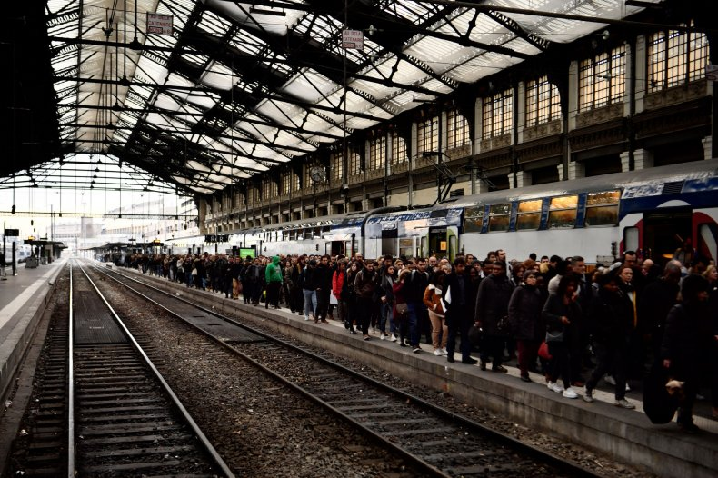 France Train Strike