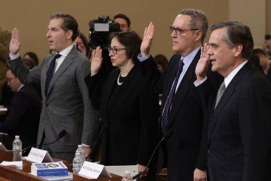 four testifying