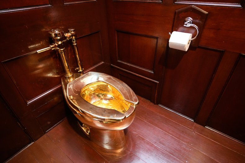 America gold toilet