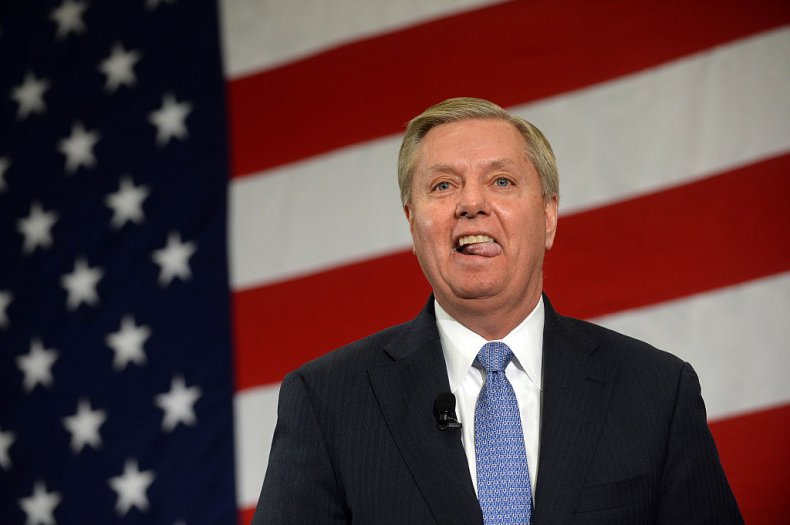 Senator Lindsey Graham in New Hampshire