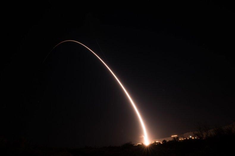us minuteman missile test launch