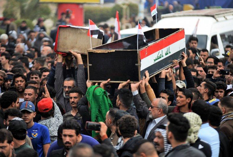 Iraqi protesters killed